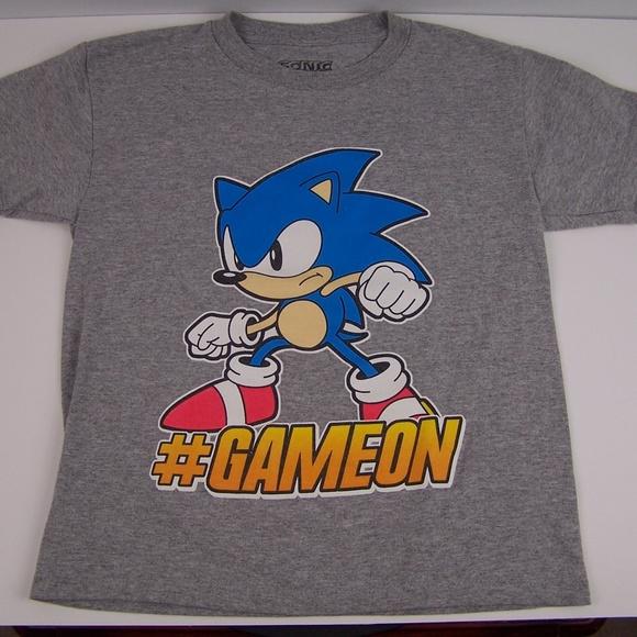 Unbranded Shirts Tops Sonic The Hedgehog Kids Graphic T Shirt Poshmark